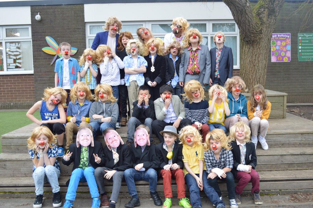 Check these kids dressing up as me for  @rednoseday  #RND15 http://t.co/ERA2LSRsHw