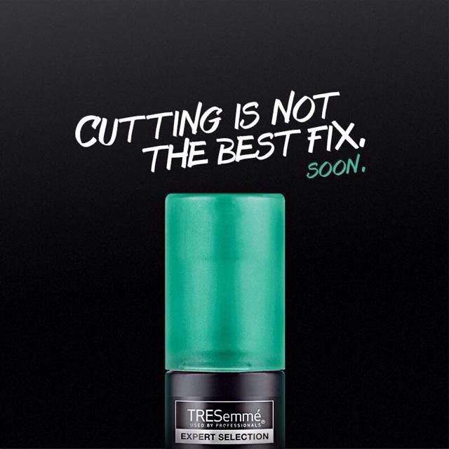 The latest innovation for #SalonGorgeous long hair from @TRESemmeph SOON!