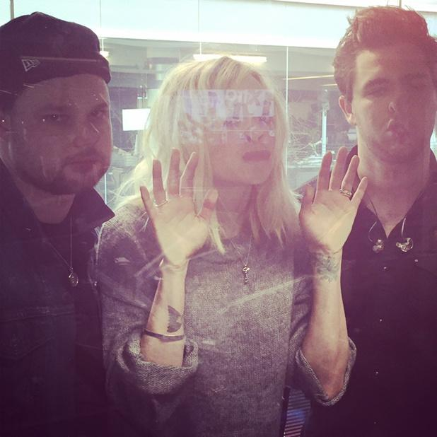 Let us in the studio.... Royal Blood will play live for you at midday @royalblooduk http://t.co/phUf7QH7BG