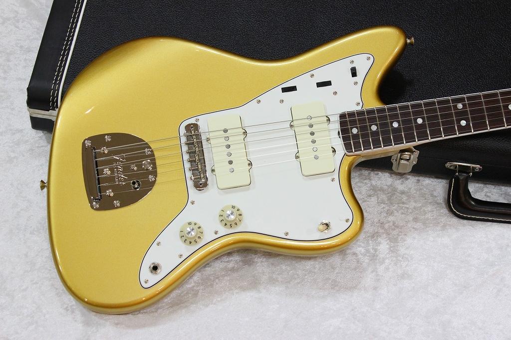 【B館3階】生産終了となった貴重なカラー!高級感漂うゴールド!  Fender USA American Vintage '65 Jazzmaster  (Aztec Gold) 中古 http://t.co/gcrAWl6Mv0 http://t.co/bYIpDbg3oQ