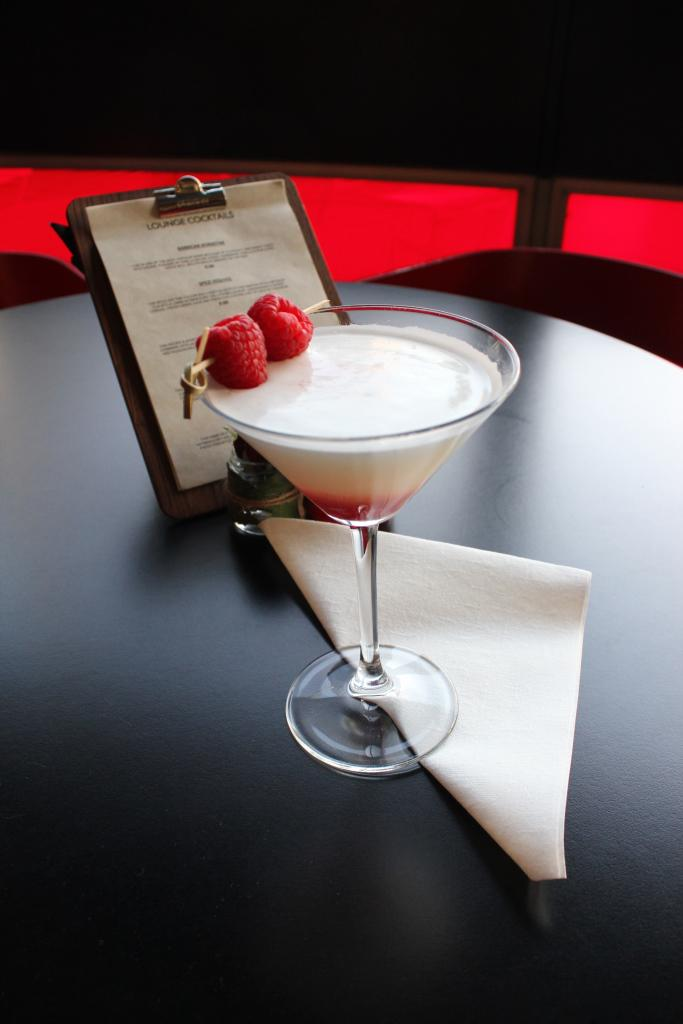 Russian Standard, Cointreau, Crème de mure - sample the Tatyana cocktail in the Lounge for Eugene Onegin. Nostrovia!