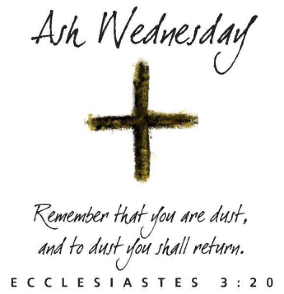 Today, February 18th. #AshWednesday http://t.co/5ndqZgzgAI