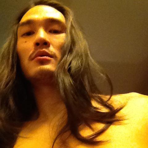 karl yune shirtless