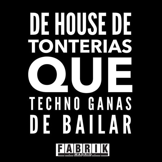 Fabrik Oficial On Twitter De House De Tonterías Que