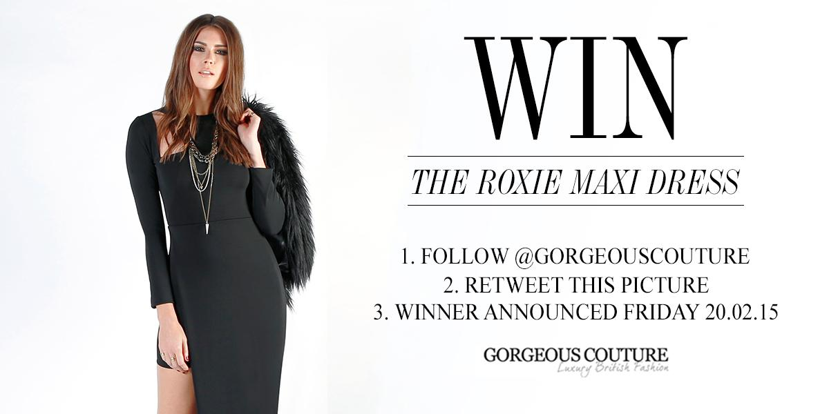 Our twitter #giveaway ends Friday! Follow and RT to #win our stunning Roxie Maxi Dress! #fbloggers #competition http://t.co/oFHdg2cJZx
