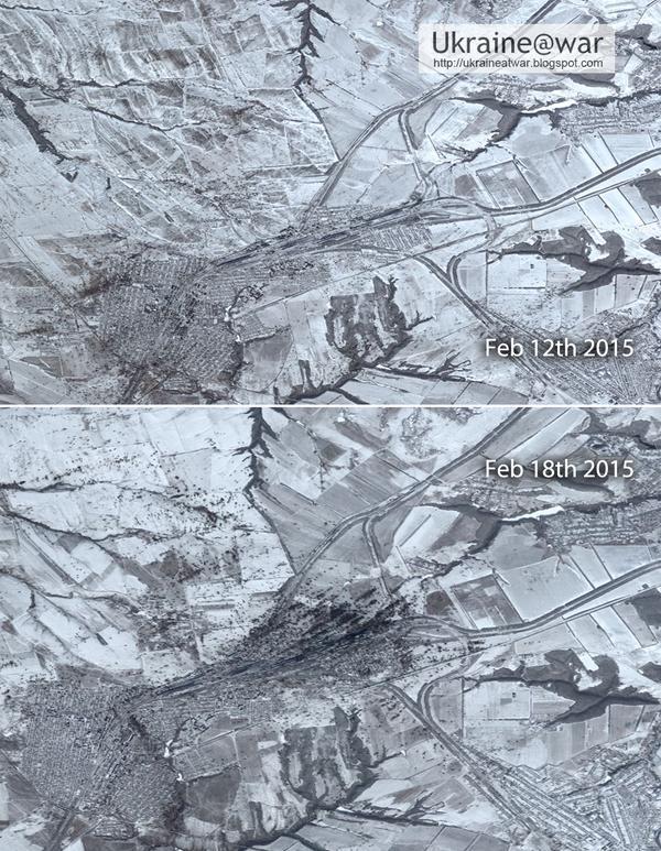 """""""Рвы, канавы, все разбито. Восстановить Дебальцево нельзя, его нужно снова построить"""", - украинские бойцы о разбитом российскими террористами городе - Цензор.НЕТ 4491"""