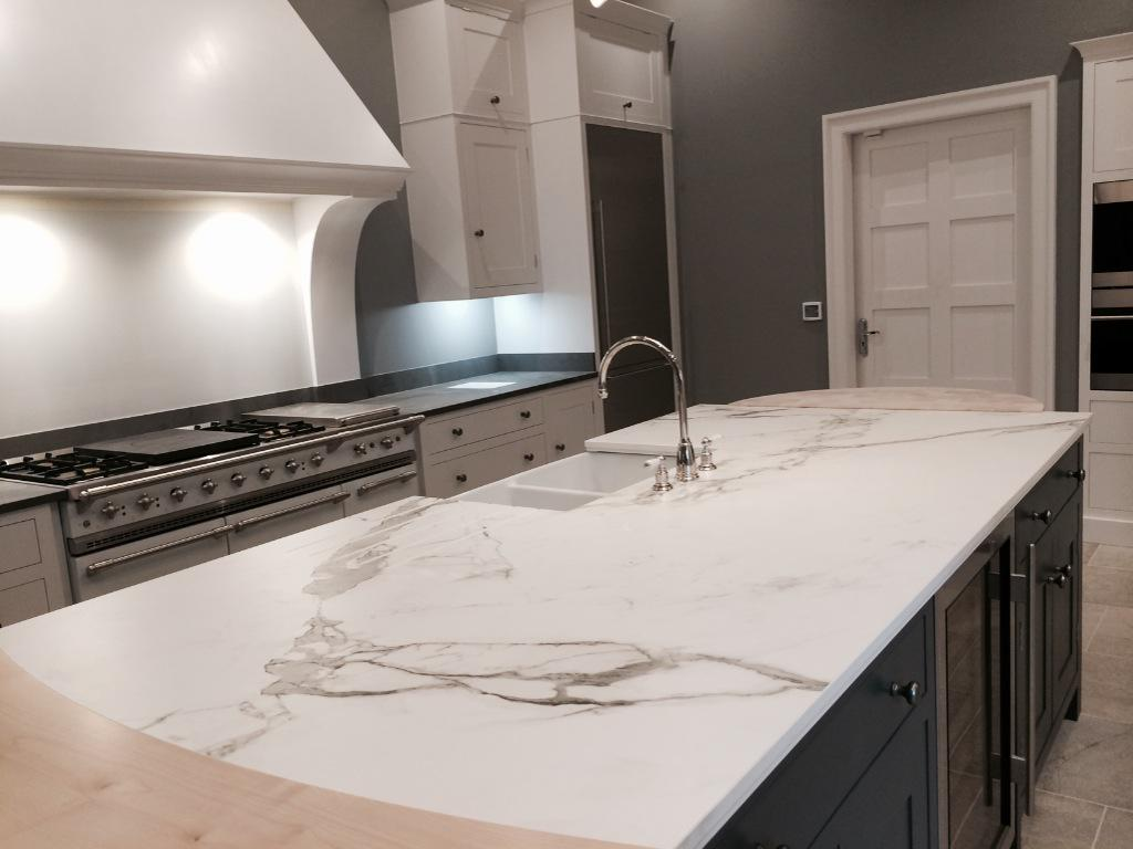 The secret drawer on twitter we absolutely love our new dekton aura display at our skipton - Werkblad silestone ...