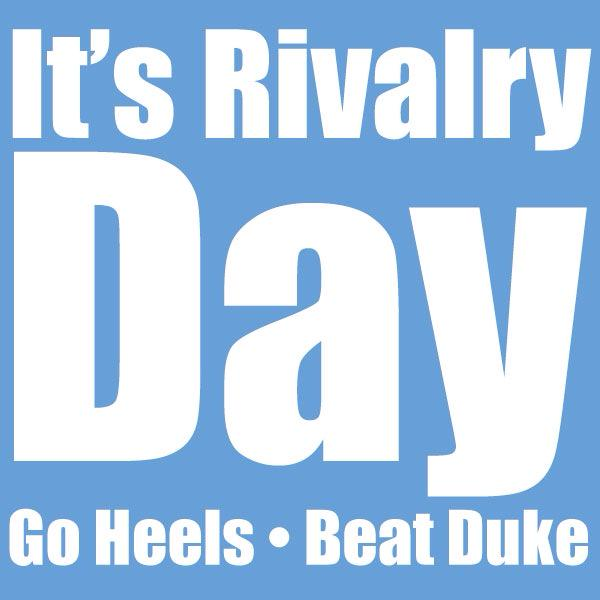 Retweet if you're excited. #GoHeels #BeatDuke http://t.co/J9zWkHHST2 http://t.co/KcuNkXucyV