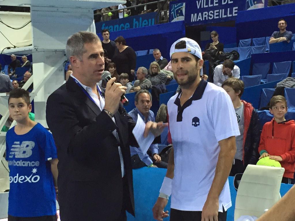 Tennis Atp Marsiglia 2015: Bolelli vince su Vanni, agli ottavi giochera' contro Raonic