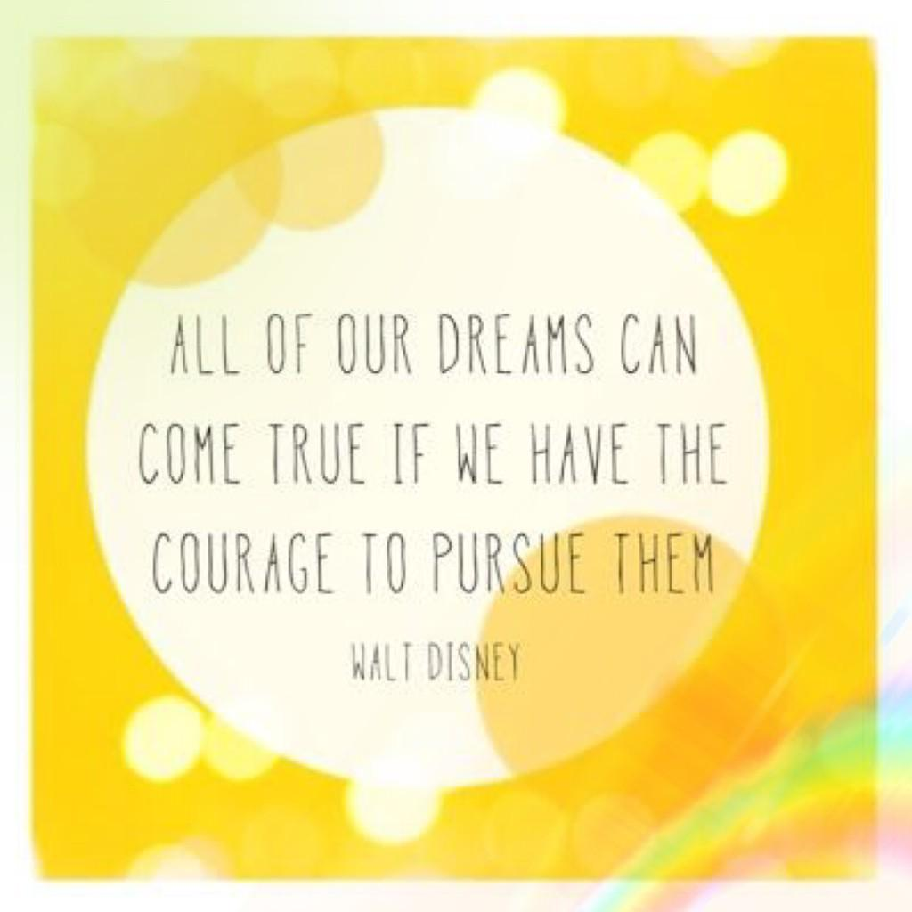 As women, we need to realize that all our dreams can come true. Pursue it with courage. #TeamBossyGals http://t.co/AG8Cagmfbp