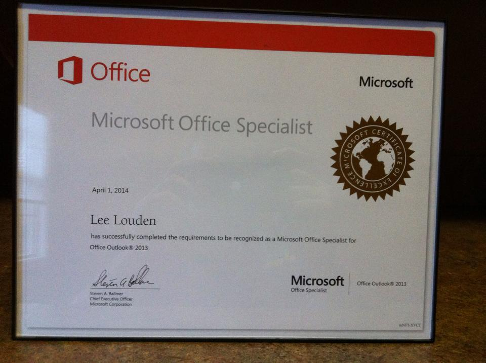 Lee Louden On Twitter Just Passed My 3rd Microsoft Certification