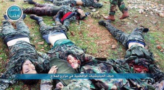 رد: مقتل عشرات الرافضة و الايرانيين في حلب اليوم