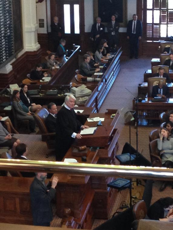 State of the Judiciary. Let's do this! @NathanLHecht #accesstojustice #txlege #texas @TexasATJ http://t.co/qMCv7VnuFN