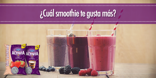 ¡El nuevo yogur Activia Sin Lactosa en bolsa es ideal para tus smoothies favoritos y para toda la familia! http://t.co/2zAlLvumvP
