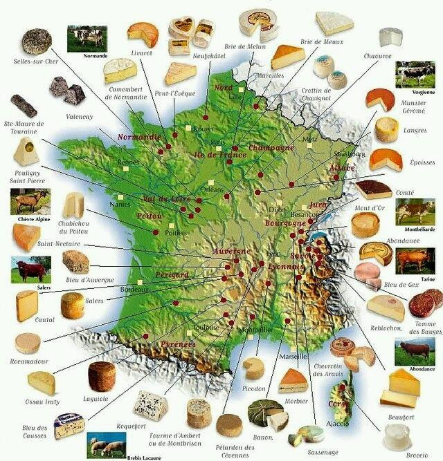 &quot;Cheese varieties of France.&quot; #cheese, need #wine <br>http://pic.twitter.com/UJyLUDGJQO rt @DrJimsWine @TravelnKids