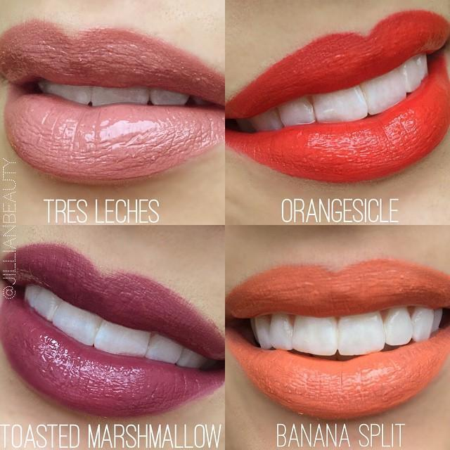 Nyx Pro Makeup Us On Twitter Decadent And Sweet Lip Swatches Of
