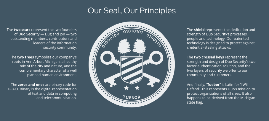 Duo Security On Twitter So What Does Our Seal Mean Anyway Are