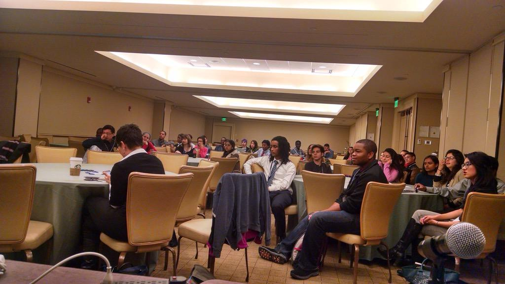 Kicking off #tapia15 with the undergraduate mentoring workshops with @pittrpatt @jonlbrack @sfbayrane and Jessa http://t.co/RoPW0wixVD