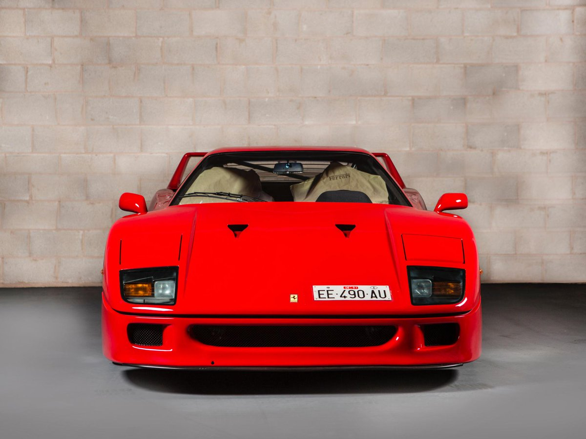 Is this the best F40 in the World i sold recently? #Unregistered #DeliveryMiles http://t.co/sK4MUU9WVN