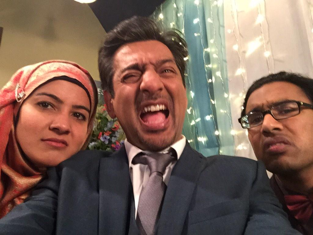 Dad stole my phone... #TamwarTweets