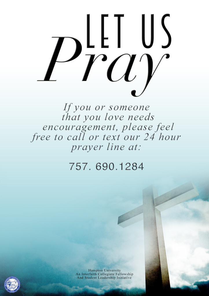 Line hour prayer 24 Call The