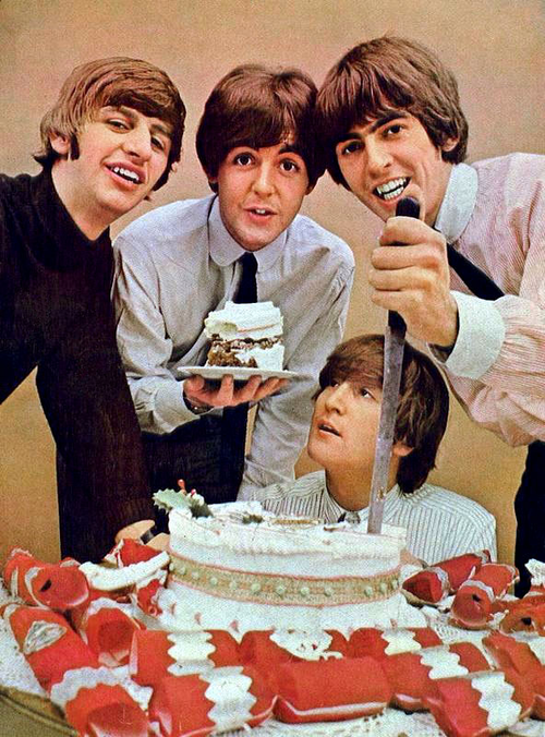 Strange Beatles Facts On Twitter All The World Is Birthday Cake So Funny Birthday Cards Online Alyptdamsfinfo