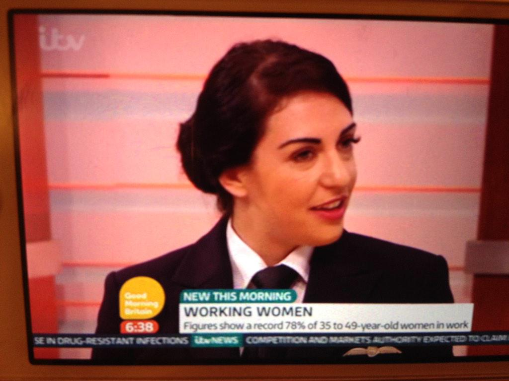 RT @2499ATC: Former #Team2499 CWO now @British_Airways pilot Chloe Harrison on @GMB this morning #whatwedo @carolvorders http://t.co/8p9z8o…