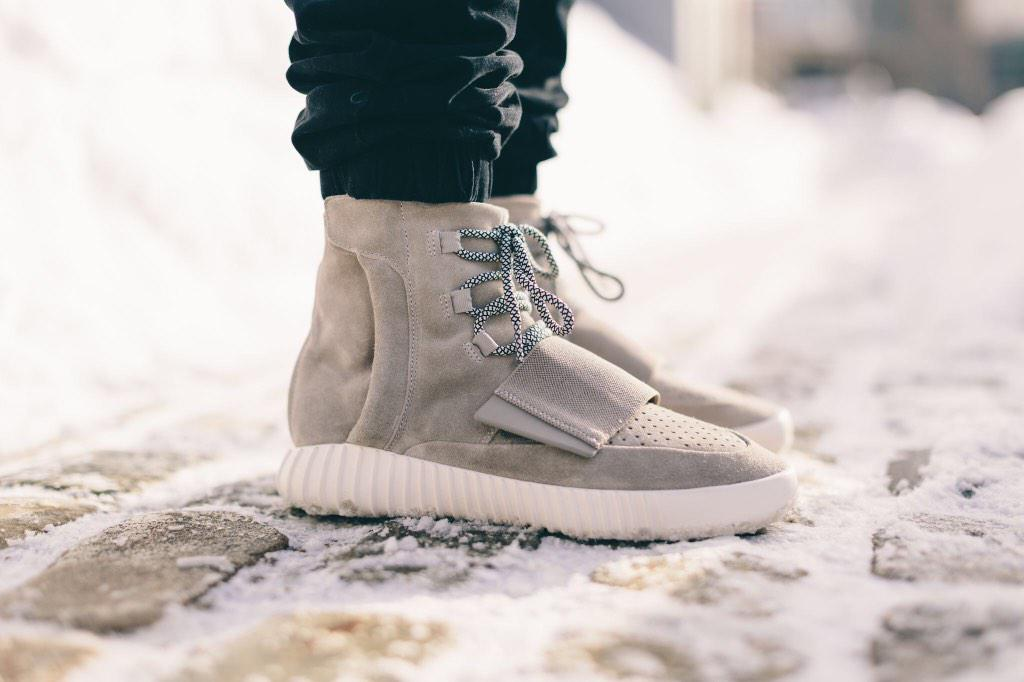 Adidas Yeezy Boost 750 On Feet