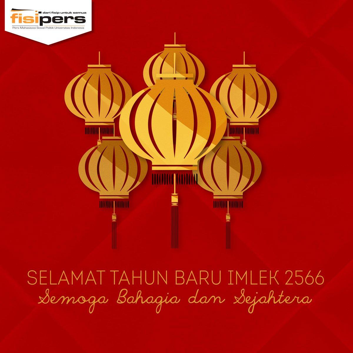 Selamat Tahun Baru Imlek 2566, kawan! @FISIP_UI2014 @FISIPUI_2013 @FISIPUI_2012 @FISIP_UI_2011