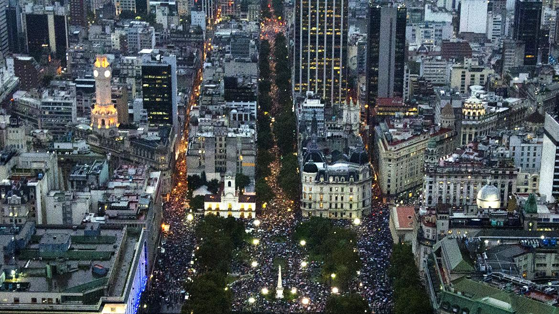 #18F La foto que muestra la marcha en su verdadera dimensión http://t.co/B3j73RRSEW http://t.co/N0a9KVZC7v