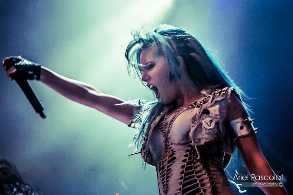 "Alissa White Gluz On Twitter Congratulations To: Alissa White-Gluz On Twitter: """"@alexacf: @AWhiteGluz"