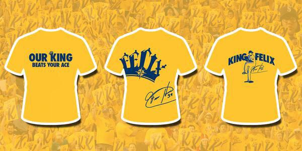 Want to win your choice of one of these shirts? RT this up to 25x to enter by midnight. #FelixHernandez #FaceOfMLB http://t.co/m26gWT7lyg