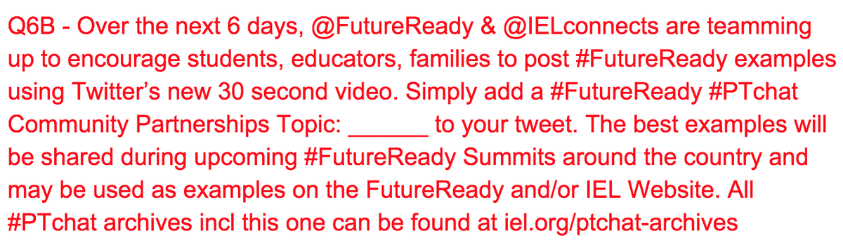 Here's the big task for ALL of us over the next 6 days… #futureready #ptchat @FutureReady http://t.co/yhF8AivhnN