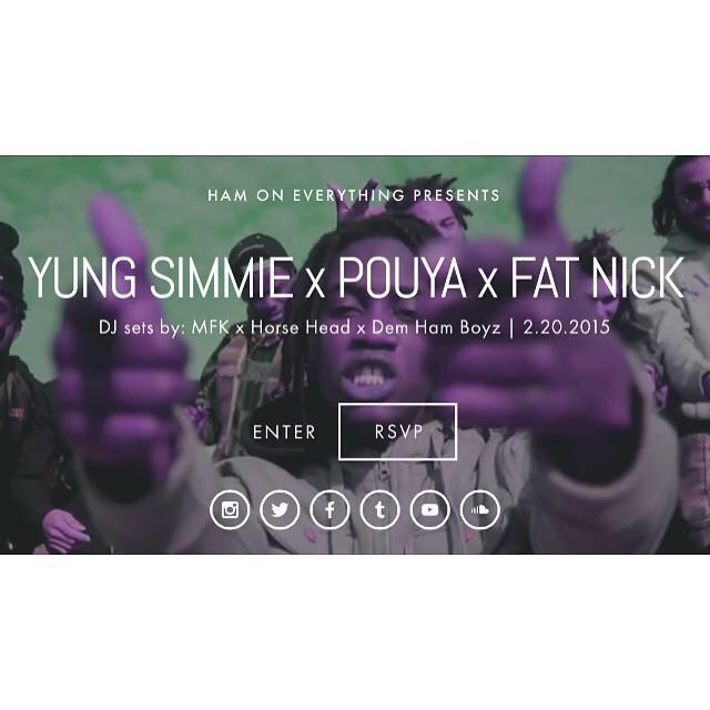 FRIDAY NIGHT IN LA!!! @275YUNGSIMMIE @Pouyalilpou @_fatnick AT @HamOnEverything http://t.co/8o10nZsrch #275WorldWide http://t.co/xL7gGKwACl