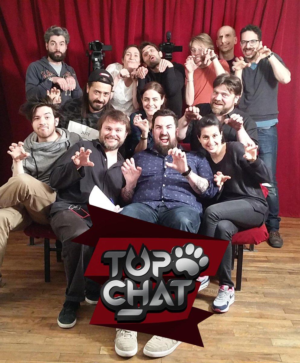 """[Série] """"Top Chat"""" avec Raphaël Descraques (2015) B-M1aXcCcAAQXFm"""