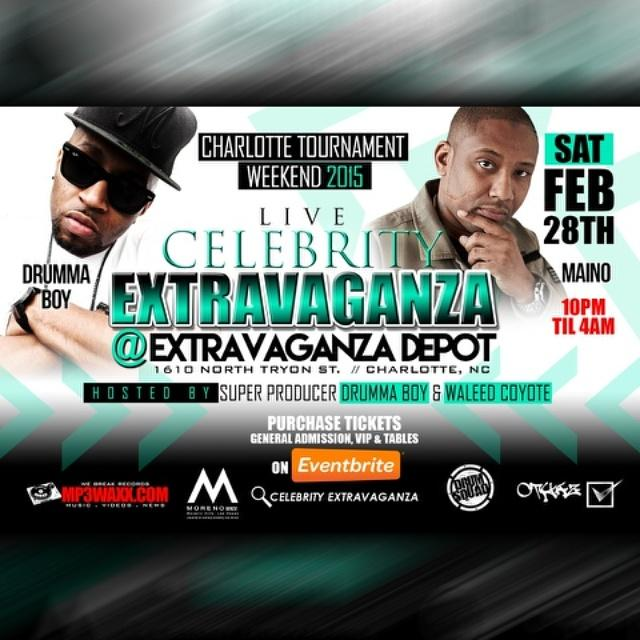"$25 EarlyBird tickets Being Sold for #CIAA takeOver- Celebrity Extravaganza @#1610 N Tryon St @mp3waxx Event"" http://t.co/waLuNcgjxc"