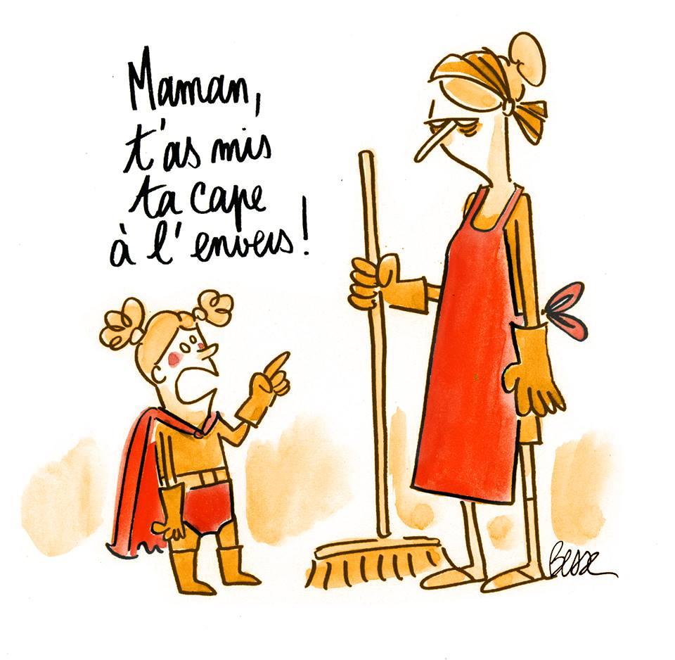 Mama, t'has posat la capa al revés. Camille Besse http://t.co/APHvNNUa98