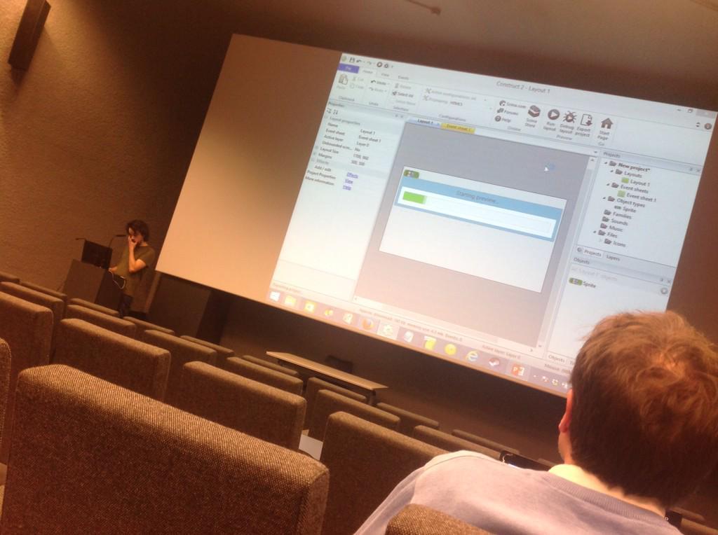 @pyhurel crée un jeu vidéo en live ! #ULgjv http://t.co/n5tTrwumIF