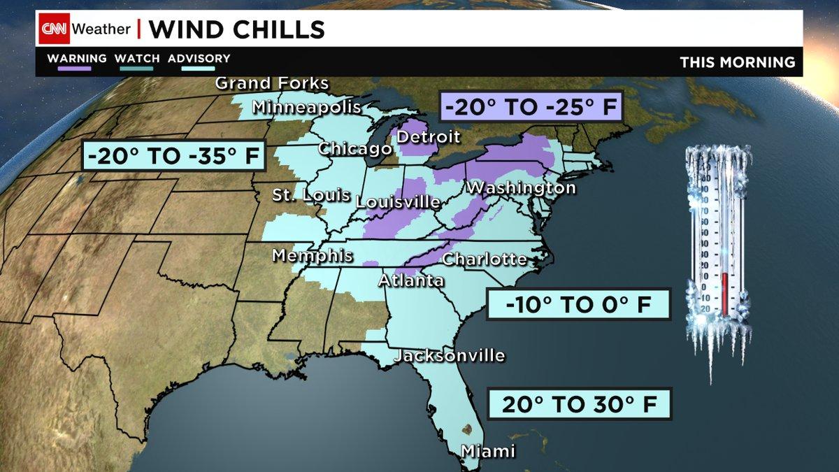 185 millones de personas en EE.UU. tiemblan de frío