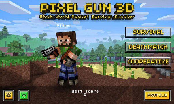 Pixel Gun 3D (Pocket Edition) Мод (много денег) » Русский Google Play - игры Android без вирусов и регистрации