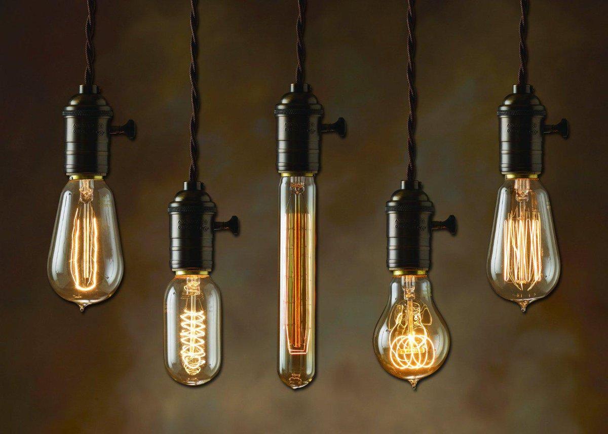 Разновидности ламп Эдисона
