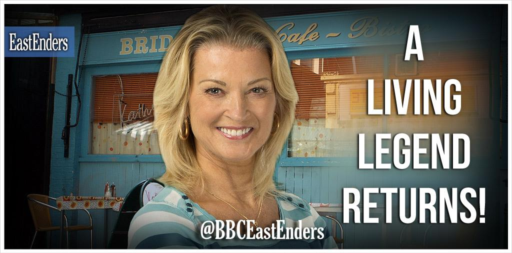 """@bbceastenders: A living legend returns to The Square! Kathy Beale is back! Say what??? #EELIVE http://t.co/UtHUptUILG"" omg!!!"
