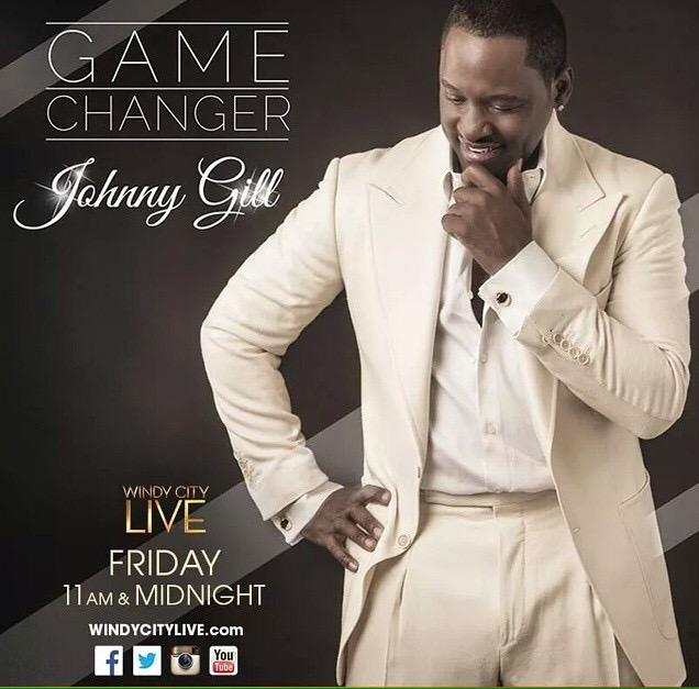 The #GameChanger @RealJohnnyGill will be on Windy City Live this Friday at 11am & Midnight! http://t.co/fyO8gYWaQN