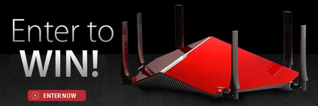Want an AC3200 Ultra Wi-Fi Router all to yourself? Enter now to win! http://t.co/ydrPUGnBkp http://t.co/vwBb83znXp