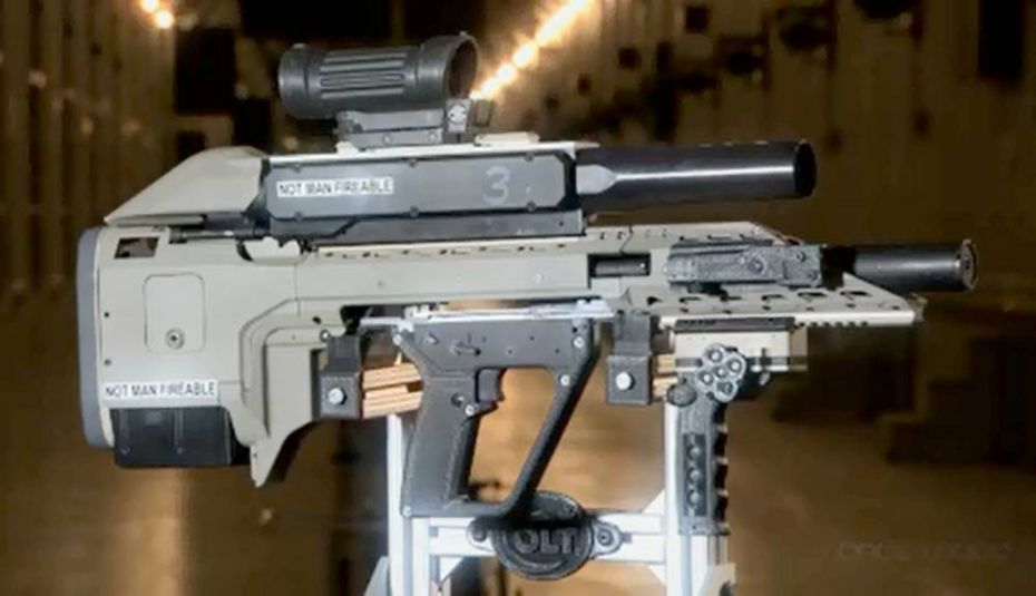 Thumbnail for Canada's smart gun: Department of National Defence wows the world with new high-tech assault rifle