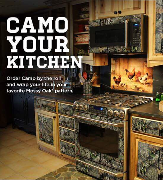 mossy oak on twitter would you camo your kitchen