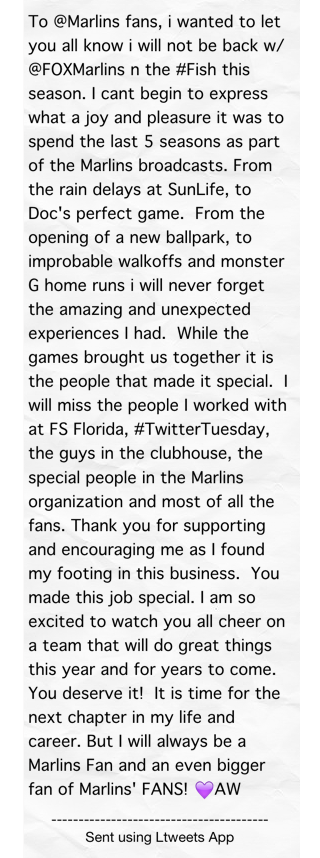 To @Marlins fans, i wanted to let you all know #ltw http://t.co/WmfI8w5xmT