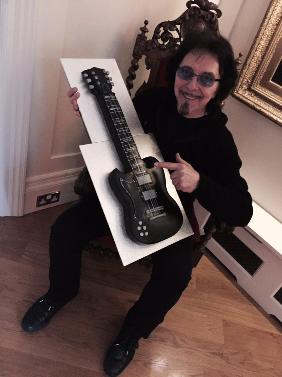 Tony Iommi On Twitter Alan And Louise Thanks For The Birthday