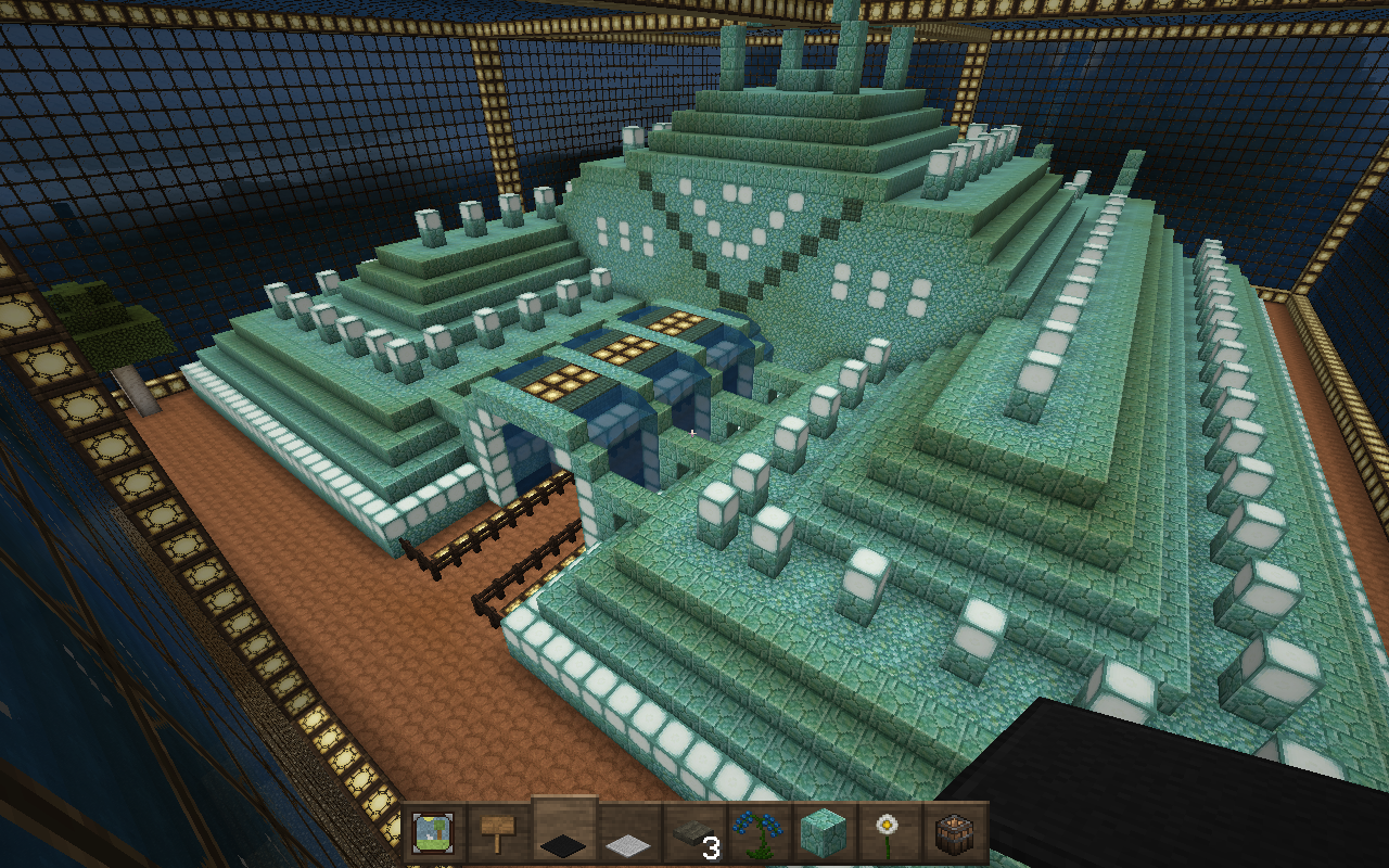 minecraft how to get rid of ocean water