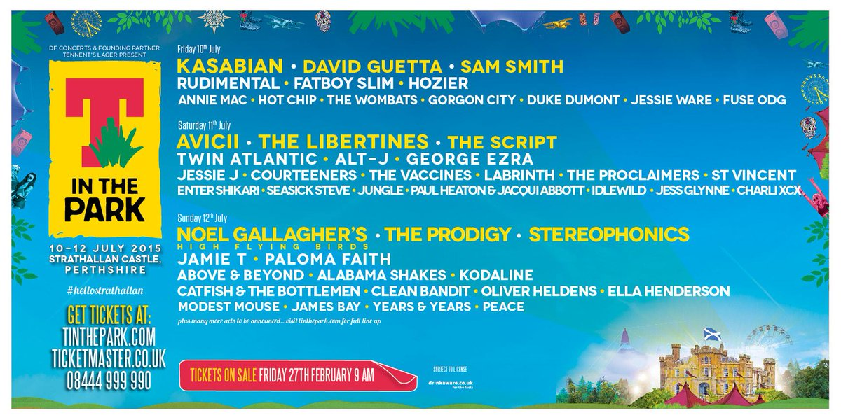 The wait is finally over! Ladies and gents, we're delighted to present you with your #TITP2015 line up! http://t.co/olQgFdp43g